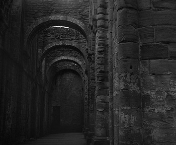 North Aisle, Fountains Abbey