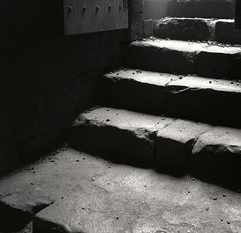 Stairs, Fountains Abbey