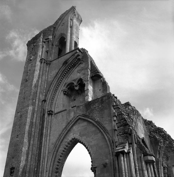 Crossing, Glastonbury Abbey