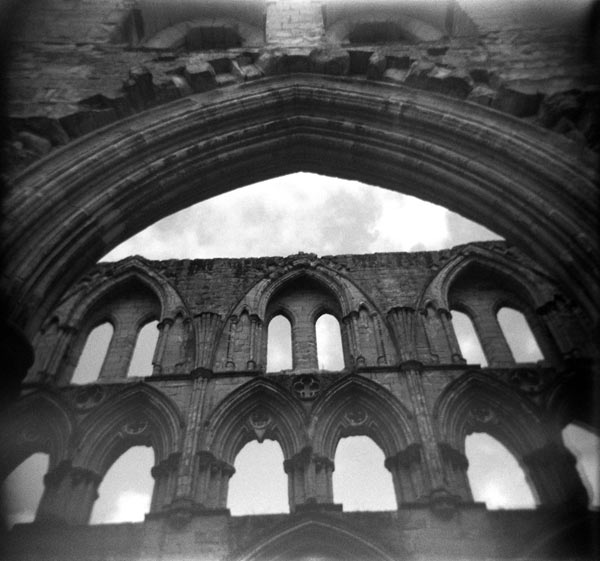 Clerestory, Rievaulx Abbey
